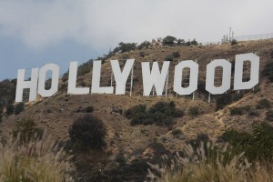 Hollywood Sign. Griffith park