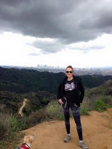 Griffith Park in the rain