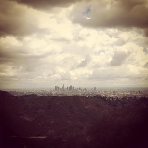 Downtown Los Angeles view from Griffith Aprk