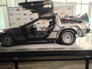 DeLorean Back To The Future at Petersen